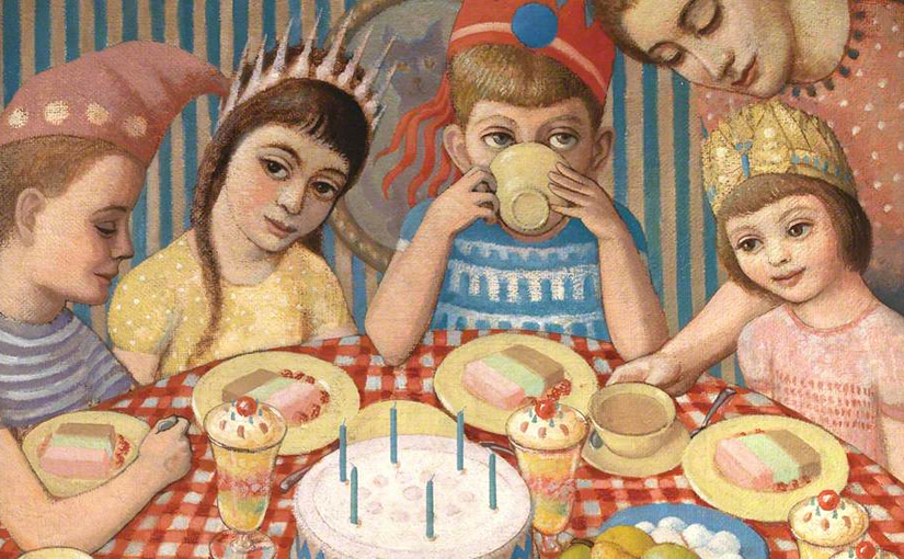 The Birthday Party by John Petts, 1956
