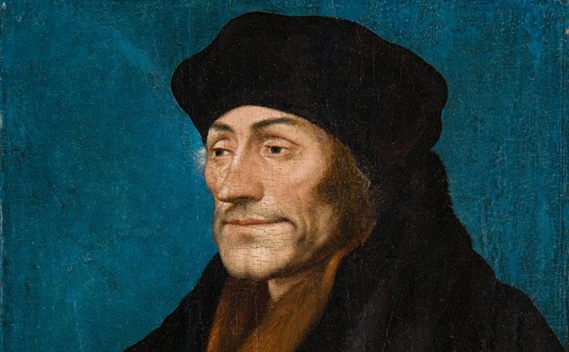 Erasmus publicou 5 versões do mesmo texto grego